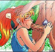 Toons nude Wild Cartoons